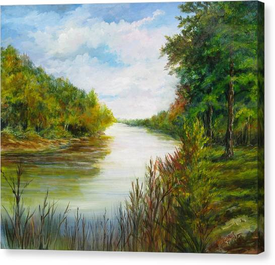 Great Pee Dee River Sold Canvas Print