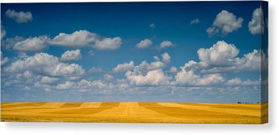 South Dakota Canvas Print - Great Plaines Panorama by Steve Gadomski