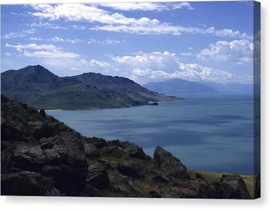 Great Salt Lake Canvas Print