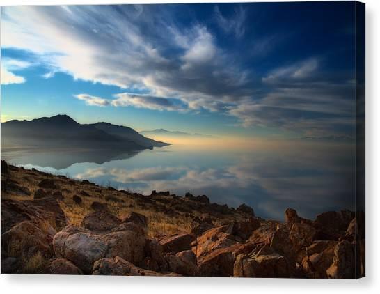 Great Salt Lake Utah Canvas Print