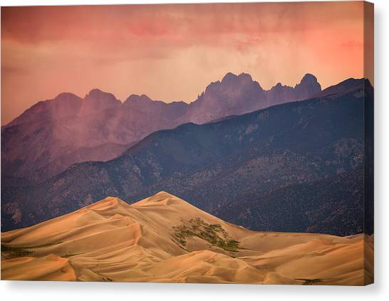 Great Sand Dunes Colorado Canvas Print
