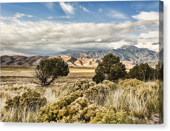 Great Sand Dunes National Park And Preserve Canvas Print