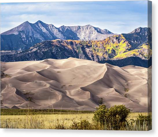 Great Sand Dunes Of Southern Colorado Canvas Print