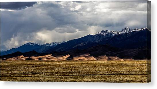 Great Sand Dunes Panorama Canvas Print