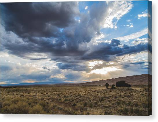 Great Sand Dunes Stormbreak Canvas Print