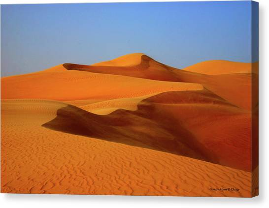 Great Sand Sea Canvas Print by Chaza Abou El Khair