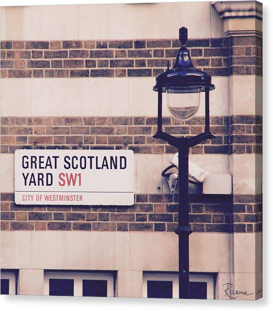 Great Scotland Yard Canvas Print