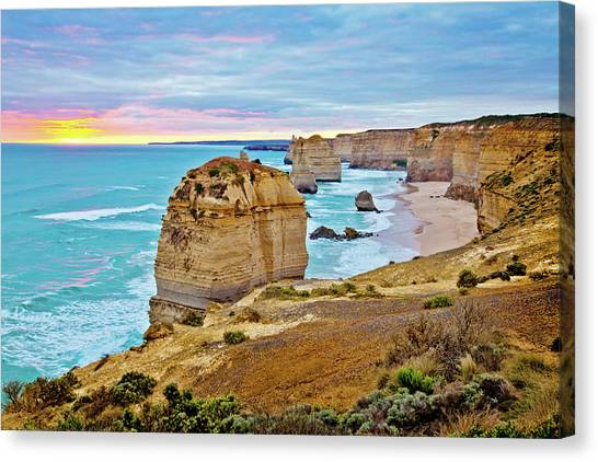Biblical Canvas Print - Great Southern Land by Az Jackson