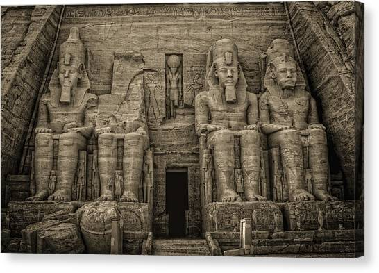 Great Temple Abu Simbel  Canvas Print