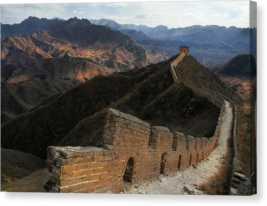 Great Wall Of China Canvas Print