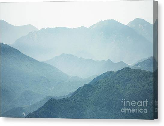 Altitude Canvas Print - Greater Heights by Evelina Kremsdorf