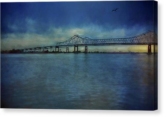 Greater New Orleans Bridge Canvas Print