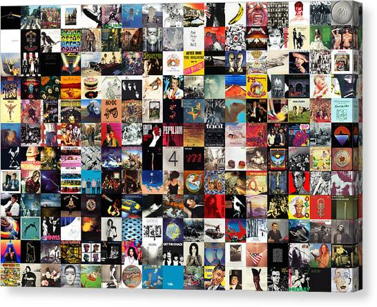 Tools Canvas Print - Greatest Album Covers Of All Time by Zapista