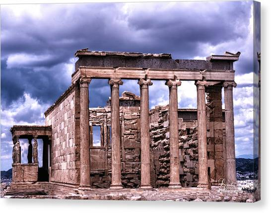 Greek Temple Canvas Print