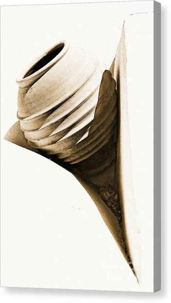 Greek Urn Canvas Print