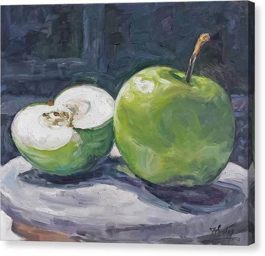 Canvas Print - Green Apple by Irek Szelag