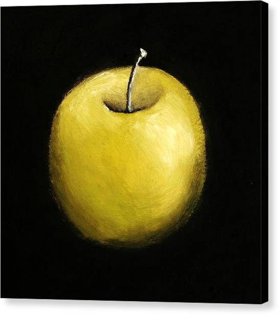 Green Apple Still Life 2.0 Canvas Print