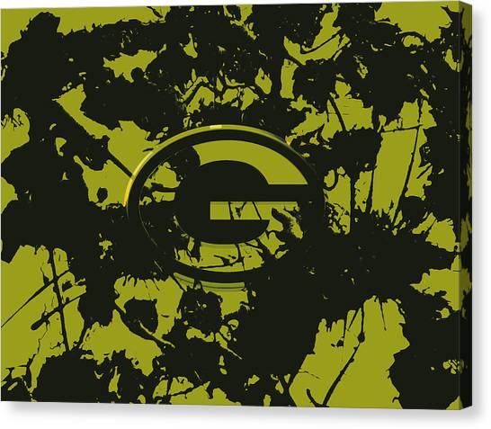 Reggie White Canvas Print - Green Bay Packers 1a by Brian Reaves