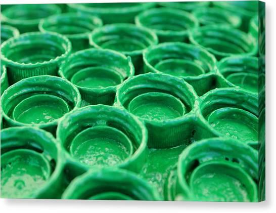 Green Canvas Print by Dan Holm