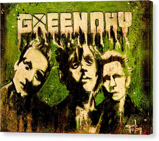 Green Day Canvas Print by Christopher Chouinard
