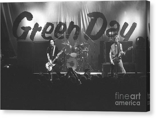 Green Day Canvas Print - Green Day by Concert Photos