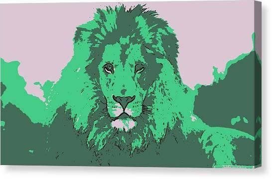 Green King Canvas Print