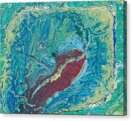 Green Monster Canvas Print