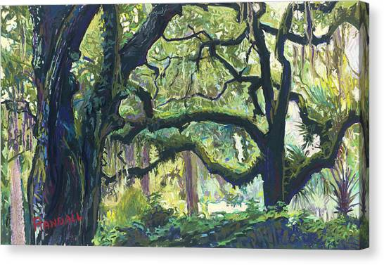 Green Oaks Canvas Print