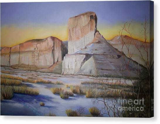 Green River Wyoming Canvas Print