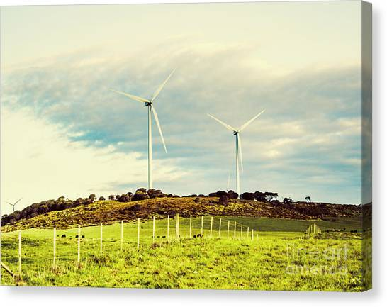 Clean Energy Canvas Print - Green Tasmania by Jorgo Photography - Wall Art Gallery
