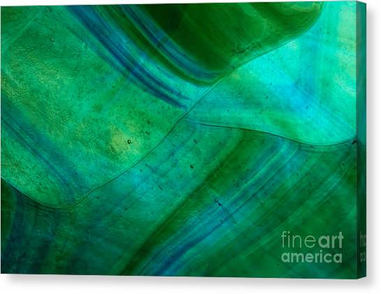Canvas Print - Green Wave by Jared Shomo