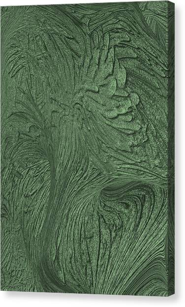 Green Wind Canvas Print