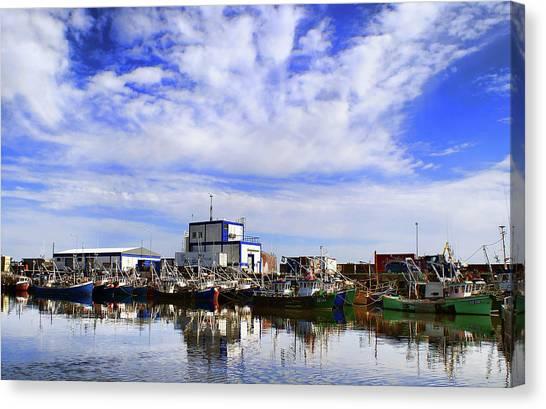 Greencastle Harbour Canvas Print