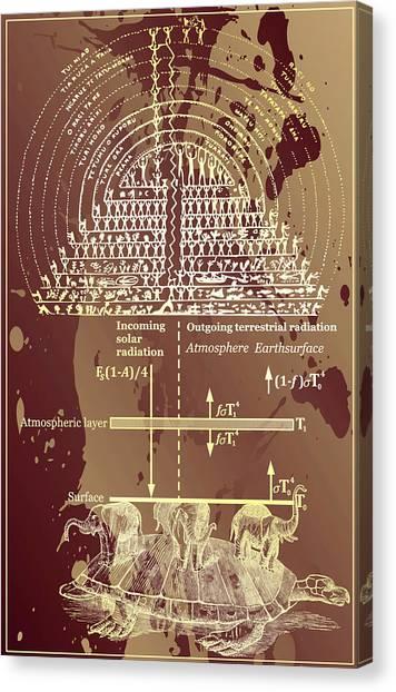 Greenhouse Effect Mythology Canvas Print