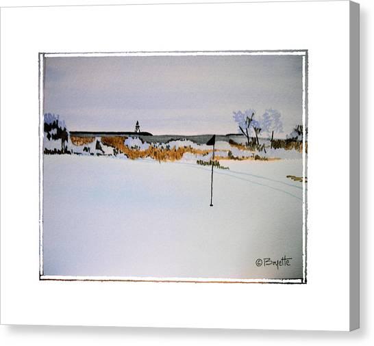 Greenskeeper Canvas Print by Robert Boyette