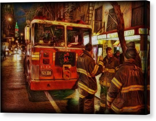 Greenwich Village's Finest Canvas Print