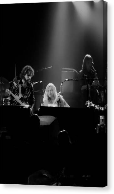 The Allman Brothers Canvas Print - Greg Allman  by Kevin Cable