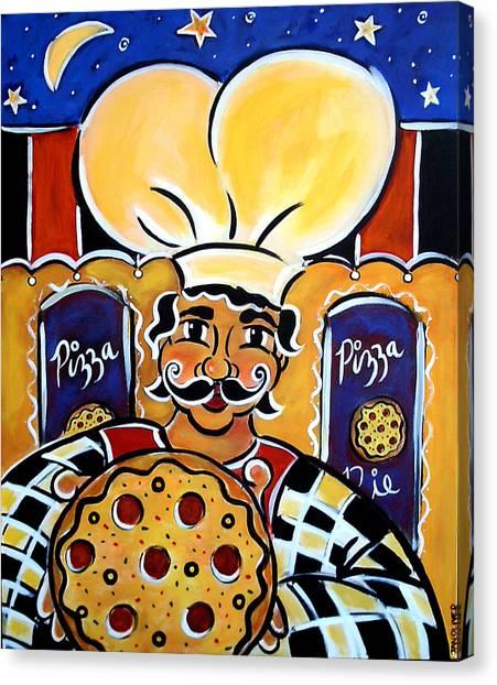 Gregorios Pizzeria Canvas Print