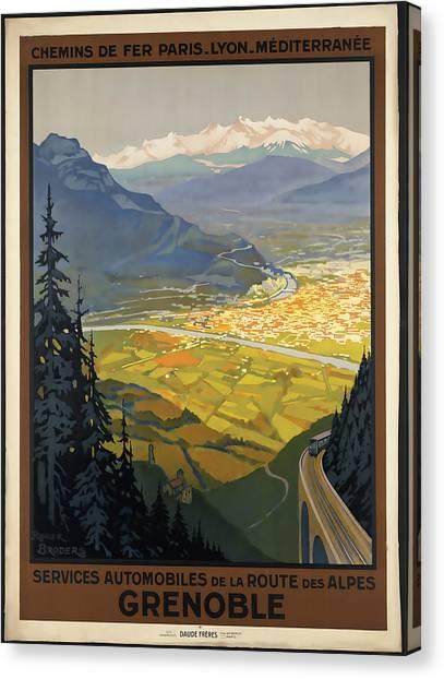 Grenoble Canvas Print