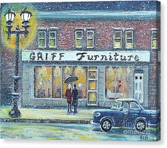 Griff Furniture Canvas Print