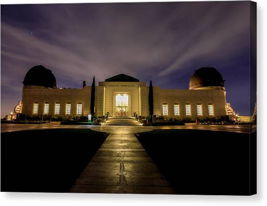 Griffith Observatory Canvas Print by Robert Aycock