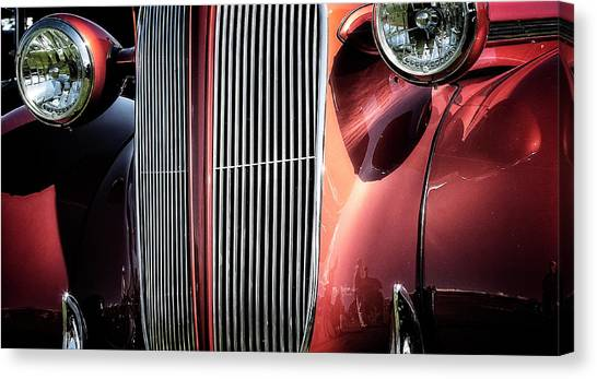 Canvas Print featuring the photograph Willys Grill by Scott Kemper