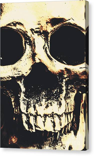 Anatomical Canvas Print - Grim Grin by Jorgo Photography - Wall Art Gallery