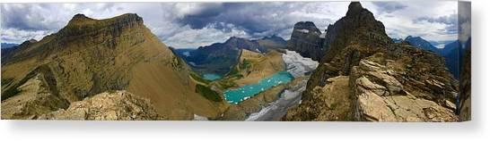 Glaciers Canvas Print - Grinnell Glacier by Brian Gilday