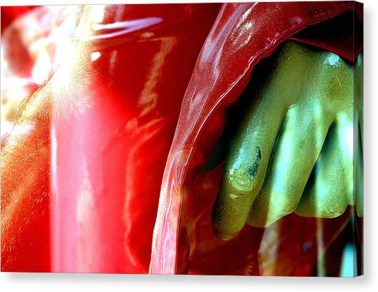 Gripped Canvas Print by Jez C Self