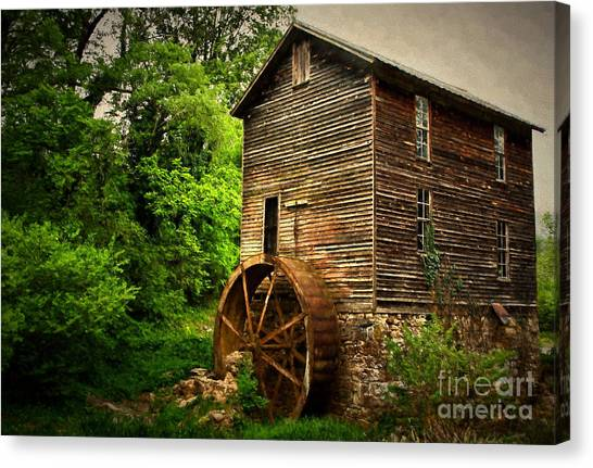 Gristmill  Canvas Print
