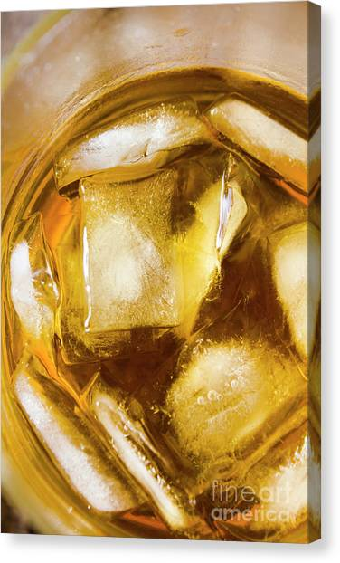 Cognac Canvas Print - Grog On The Rocks by Jorgo Photography - Wall Art Gallery