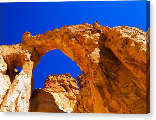 Red Rock Canvas Print - Grosvenor Arch by Chad Dutson