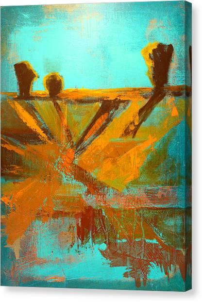 Ground Elements Canvas Print