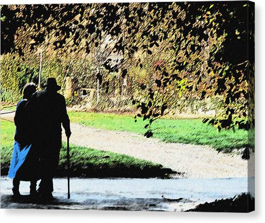 Grow Old With Me Canvas Print